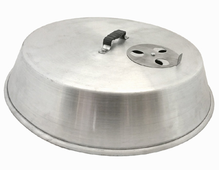 Aluminum 25″ Cover With Damper