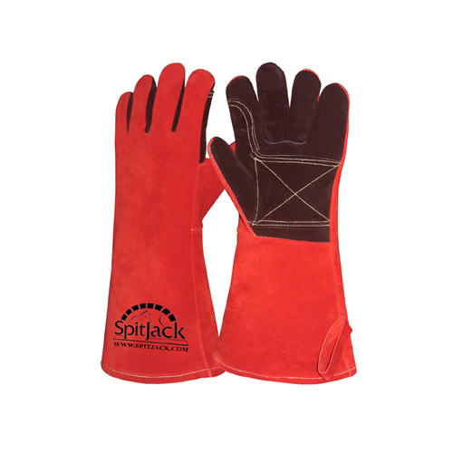 SpitJack Deluxe Fireplace – Barbecue Gloves